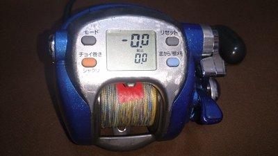 日本原廠 Daiwa Seaborg(西伯格) 500Fe 電動捲線器 (白帶/巴郎/透抽/煙仔虎 /小搞搞)