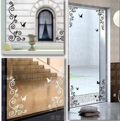 小妮子的家@玻璃藤貼壁貼/牆貼/玻璃貼/磁磚貼/汽車貼/家具貼
