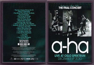 音樂居士#a-ha - Ending On A High Note The Final Concert () DVD