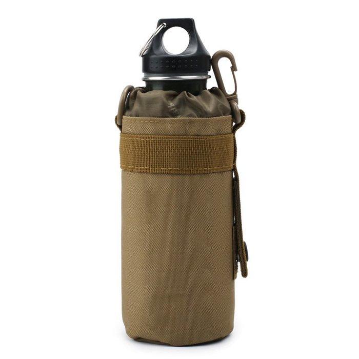 [包妳喜歡]戶外腰包保溫套水杯水壺包杯套戰術穿腰帶腰包MOLLE系統附件掛包017