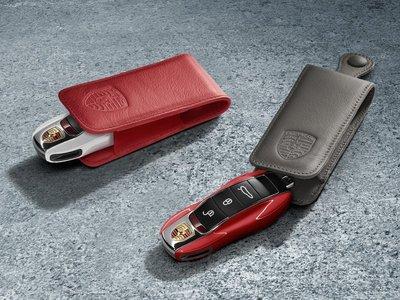 Porsche Leather Key Case 原廠 皮革 鑰匙套 鑰匙包 皮套 For 全車系