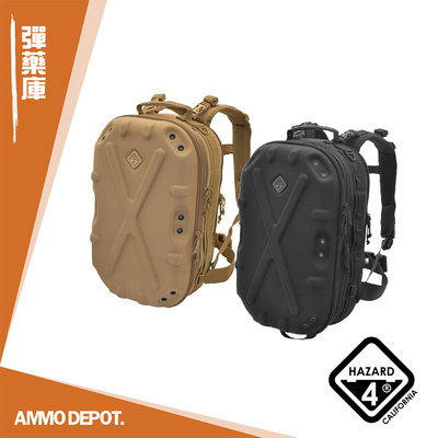 【AMMO彈藥庫】HAZARD 4 Pillbox 硬殼 戰術雙肩後背包 #BKP-PBX