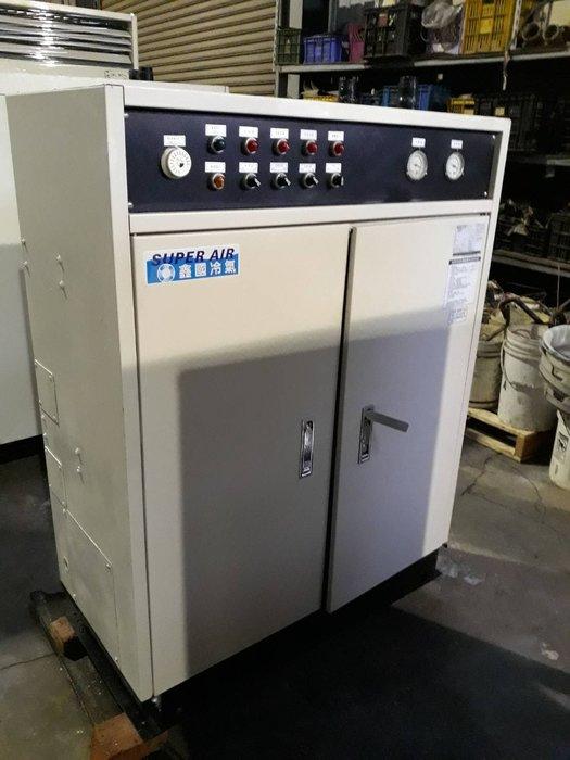 (大台北)中古鑫國8RT水冷冰水機3φ380V(編號:SU1071001)~各展覽及廠辦皆適用