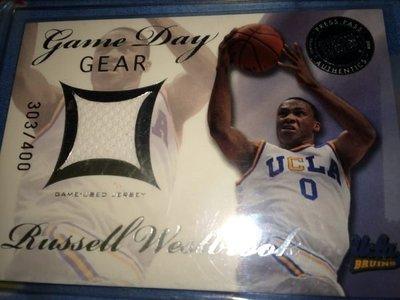 Russell Westbrook UCLA 大學球衣卡 NBA OKC