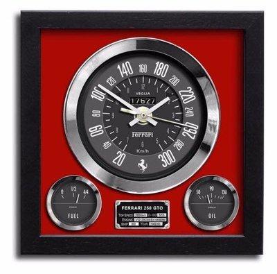FERRARI 250 GTO 時鐘-Formula 1(手工英國製造)
