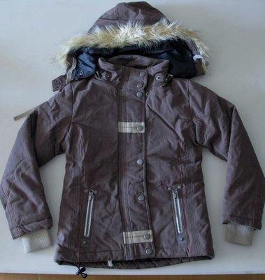 【絲絲入扣】出清~德國Killtec兒童128cm(US8號) 冬季加厚夾克帶帽外套~最後一件