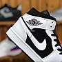 Nike Air Jordan 1 AJ1黑白 高幫 百搭 經典 休閒運動籃球鞋 554724-113 男鞋