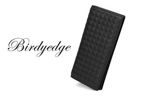 韓國 BIRDYEDGE 長型錢包  長夾 編織包 翻摺 包