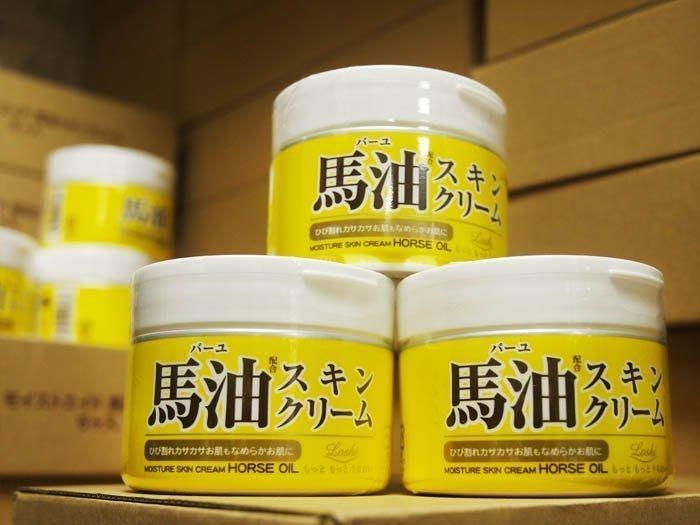 日本北海道Cosmetex Roland ~ LOSHI 馬油保濕乳霜 220g (馬油護膚霜)☆MUSE 愛美神☆
