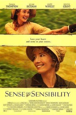 理性與感性 (Sense And Sensibility) - 李安 - 美國原版雙面電影海報 (1995年)