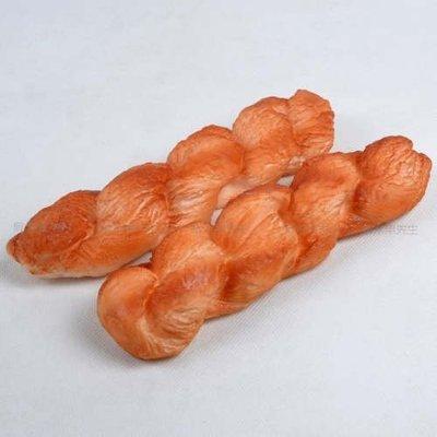 [MOLD-D163]仿真麵包假水果模型家居櫥櫃裝飾品 攝影道具 仿真PU麻花麵包