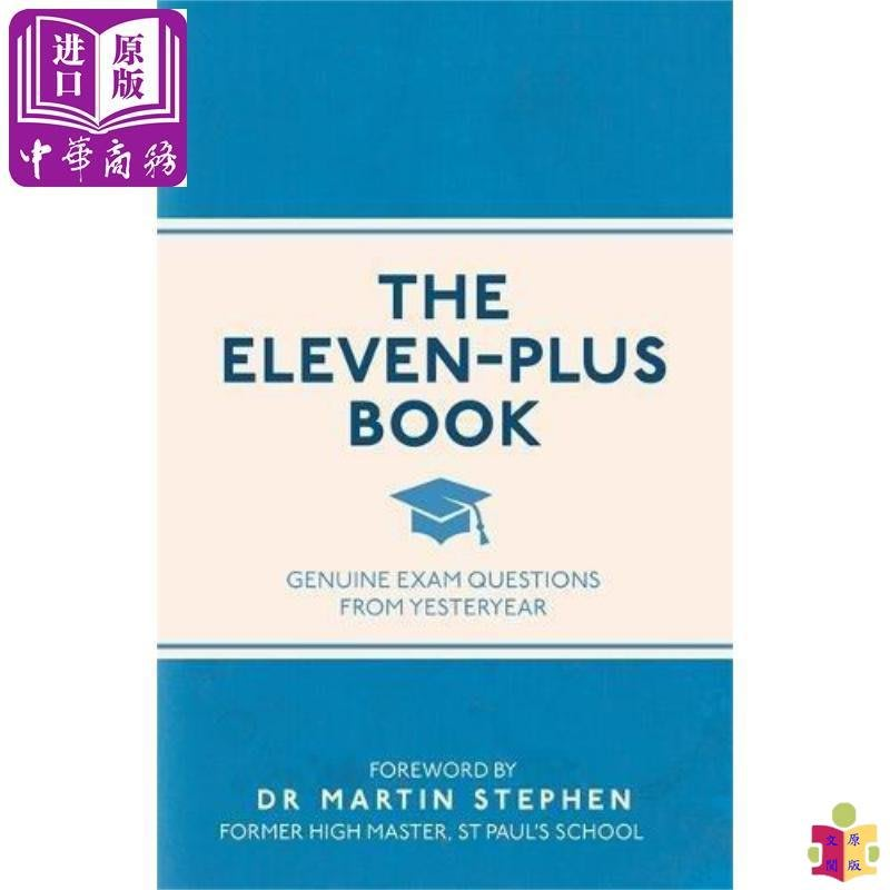 [文閲原版]The Eleven-Plus Book:Genuine Exam Questions From..