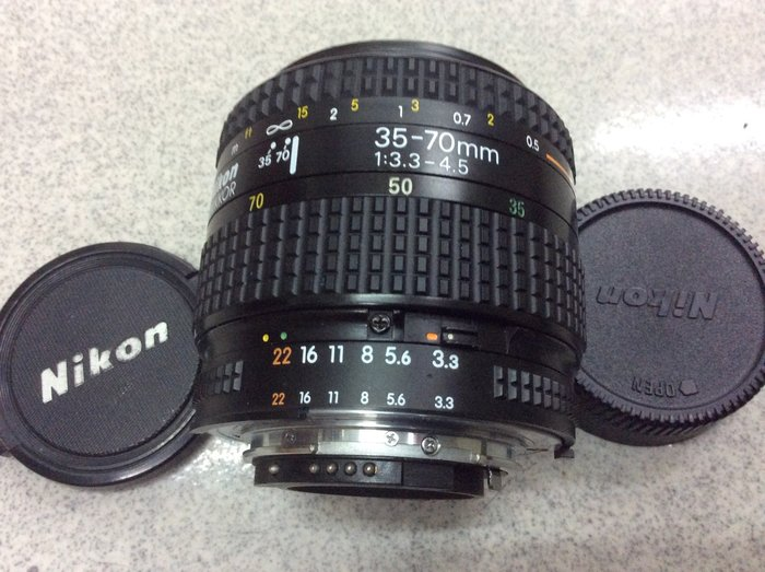 [保固一年]【高雄明豐 尼康 Nikon AF NIKKOR 35-70mm F3.3-4.5 變焦標準鏡頭 全幅