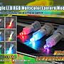 LED 小燈【V-18】紅藍綠七彩LED模組  燈籠元宵燈會 DIY組裝 聖誕燈、舞會禮服 耶誕城 跨年煙火
