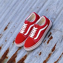 D-BOX  VANS Old Skool Pro Nav 帆布鞋 布鞋 復古 經典 大紅色 板鞋