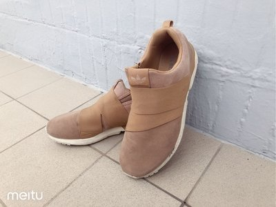 ADIDAS ZX FLUX x UNITED ARROWS 男女潮流麂皮休閒鞋 愛迪達潮流系列 慢跑鞋 網路最低價 8成新 新北市