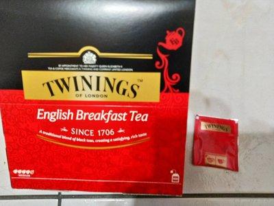 TWININGS英國康寧茶早餐茶紅色現貨單一小包 好市多 COSTCO 代購 代買 北投區 好市多 線上代購不收代購費