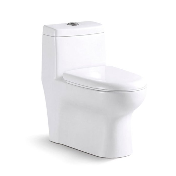 《101衛浴精品》Cassido進口奈洗淨抗菌單體馬桶 O-906 【全台大都會免運費 可貨到付款】