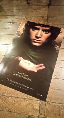 魔戒首部曲:魔戒現身-The Lord of the Rings: The Fellowship of the Ring (2001)原版電影海報