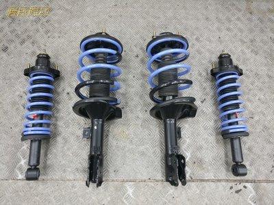 慶聖汽車 日本原裝KYB EXCEL-G黑筒避震器+TS短彈簧總成件 豐田 COROLLA 93~01 GOA