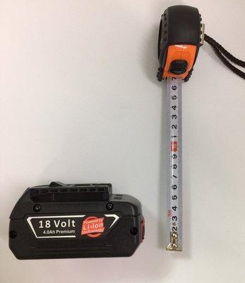 鋰電池 全新 通用 BOSCH(博世) 18V BAT609 4000mAh (有電量顯示) 手電鑽鋰電池/電動工具配件