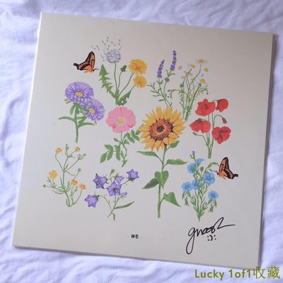 Lucky 1of1收藏簽名版 Gnash  WE 限量 彩膠 LP 黑膠唱片