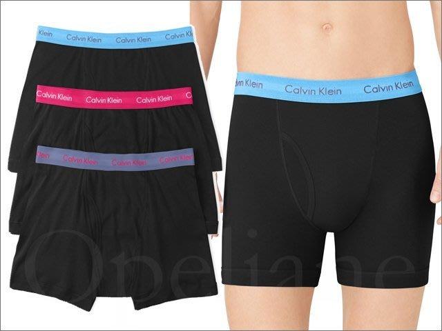 最後一組 Calvin Klein Brief CK卡文克萊彈性棉內褲平口四角褲男內著3件1組 L號 愛Coach包包