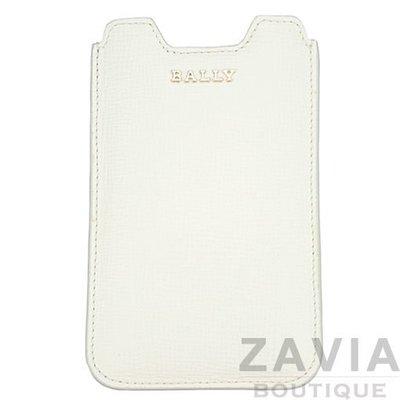 【ZAVIA】BALLY 配件.白色iPhone手機保護套120825(最後出清價)