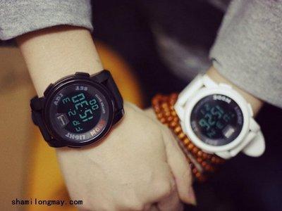 【WA604】韓版簡約 情侶錶 休閑運動電子錶 手錶 似 CASIO G-Shock Baby G 情人節 交換 禮物