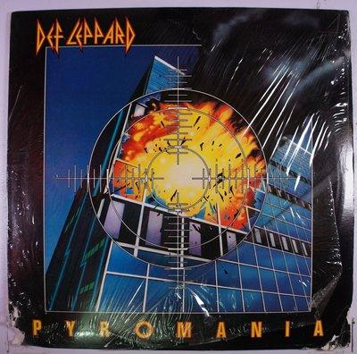 《二手美版黑膠》Def Leppard -  Pyromania