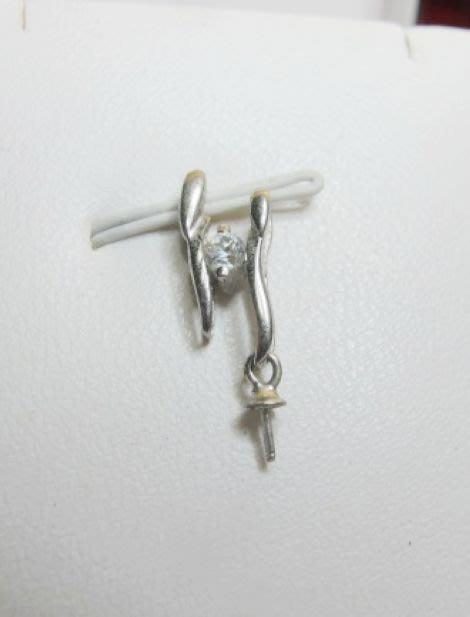 [一品軒庫存促銷品]925純銀珍珠.玉石造型.墜子台.