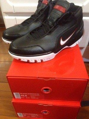 Nike Air Zoom Generation QS KINGS ROOK 黑 白 AJ4204-001 us12 訂金賣場