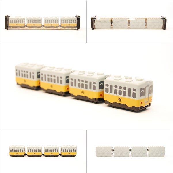 TRAIL 鐵支路 Q版 迴力小列車 臺鐵 DR2000 黃皮仔 QV019T1