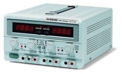 TECPEL 泰菱 》固緯 GWInstek GPC-6030D 375w  DC 電源供應 送DMM-113C*1