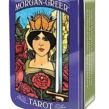 【馨閣塔羅】Morgan-Greer Tarot 摩根吉爾塔羅牌鐵盒 現貨