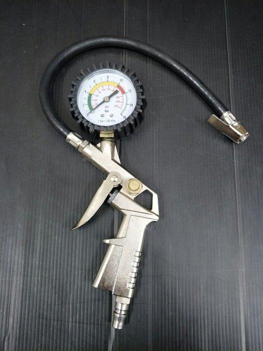 多功能 槍型 多用途 胎壓錶 胎壓表 打氣 量胎壓 洩壓 風槍 空氣槍 附發票