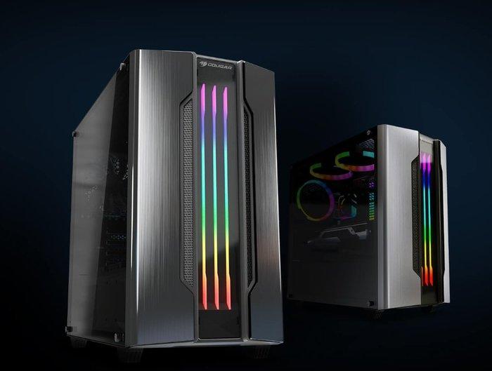 小白的生活工場*COUGAR GEMINI M RGB MICRO ATX 電競機箱