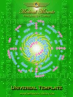 [心靈之音]#134宇宙模版Universal Template -醫學奇蹟模版能量催化圖-美國原裝進口附中文說明