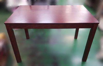【宏品二手家具館】中古 家電 E12149胡桃餐桌*咖啡桌/會議桌/洽談桌/中古 書桌椅 會議桌椅 辦公桌椅