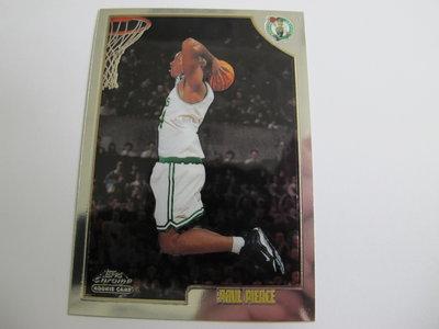 ~ Paul Pierce ~ 1999年Chrome RC NBA球星/保羅·皮爾斯 金屬新人卡 Rookie