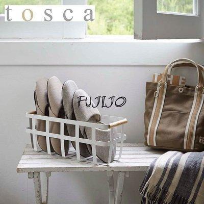 ~FUJIJO~日本存貨款~日本限定販售【白色原木系列】木質提把 簡便型室內拖鞋架 鞋櫃 鞋架