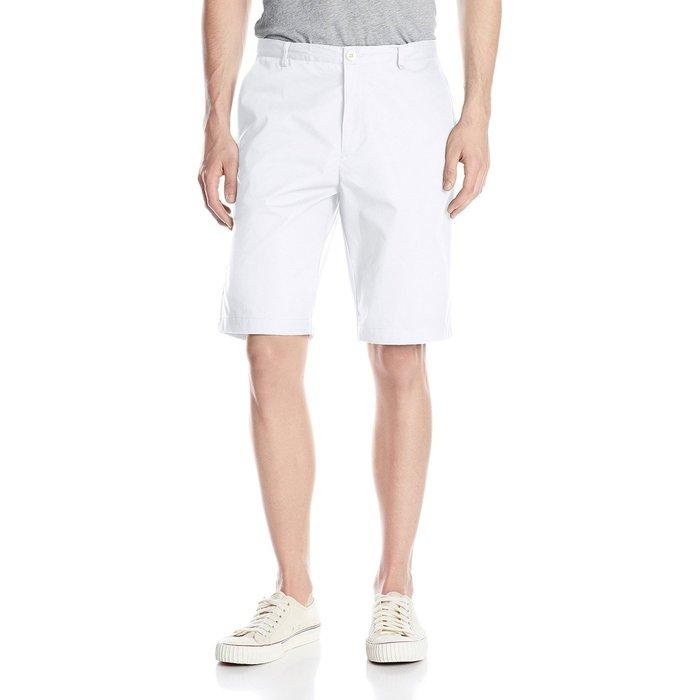 美國百分百【全新真品】Calvin Klein 短褲 CK 休閒褲 百慕達褲 褲子 五分褲 素色 白色 34腰 G837