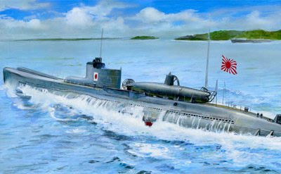 AFV CLUB 戰鷹 1/350 日本海軍 伊號第27潛水艦(附甲標的) (SE73514)