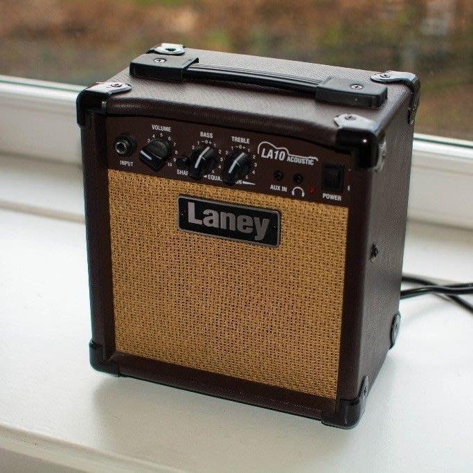 《小山烏克麗麗》英國 LANEY LA10 LA-10 10瓦 烏克麗麗音箱 吉他音箱 原廠公司貨 一年保固