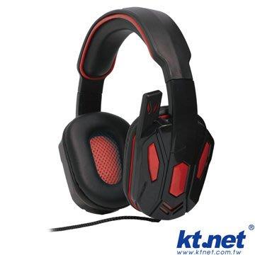 【捷修電腦。士林】 KTNET IF951電競遊戲耳機麥克風-魅惑紅  《手機/平板/電腦皆可用》 $  449