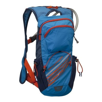NATHAN - Firestorm二鐵專用水袋背包(2L)藍,買就送Fixpoints德國號碼布磁扣