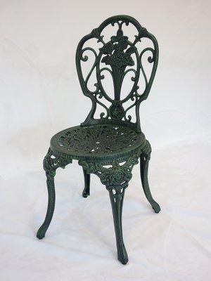 【南洋風休閒傢俱】戶外休閒桌椅系列-#110 玫瑰花束椅 戶外鋁合金餐椅    #110