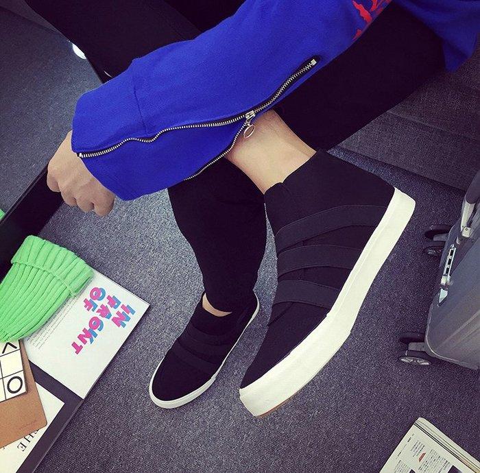 (現貨供應)秋季男鞋街拍高幫帆布鞋韓版百搭青少年休閒板鞋學生潮流運動鞋子