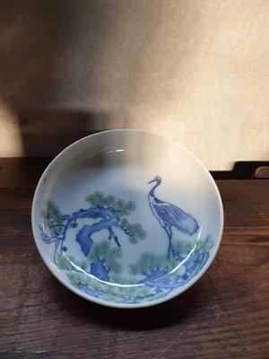 【童瞳物語】丹頂鶴日式老皿