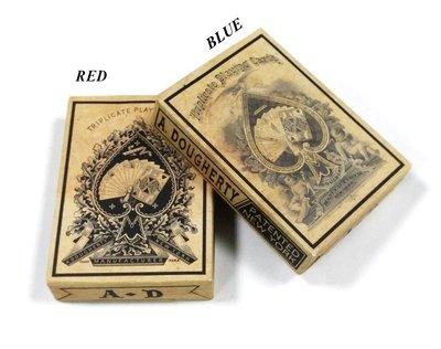 【USPCC撲克牌】TRIPLICATE WEATHERED playing cards
